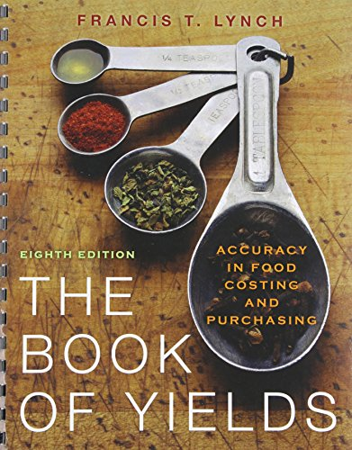 9781118122501: The Book of Yields: Accuracy in Food Costing and Purchasing 8th Edition with Professional Chef 9th Edition Set