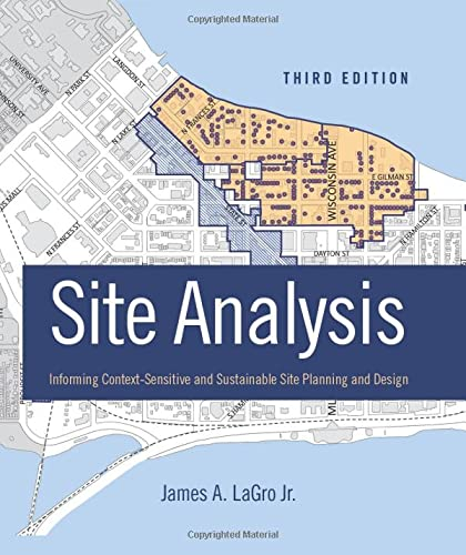 9781118123676: Site Analysis: Informing Context-Sensitive and Sustainable Site Planning and Design