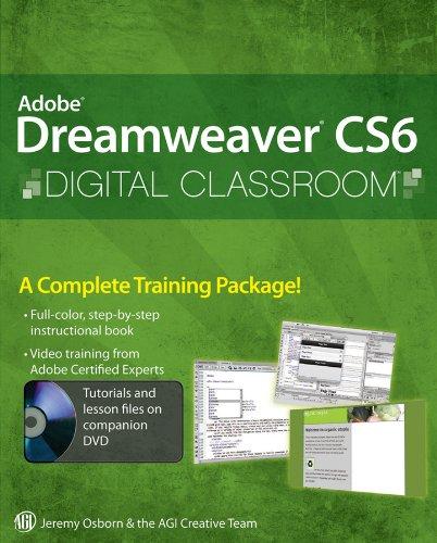 9781118124093: Adobe Dreamweaver CS6 Digital Classroom