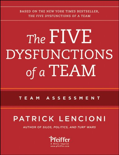 The Five Dysfunctions of a Team: Team Assessment (1118127307) by Lencioni, Patrick M.