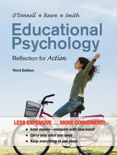 9781118129159: Educational Psychology: Reflection for Action