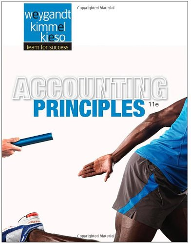 Accounting Principles, 11th Edition: Kieso, Donald E.,