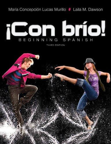 9781118130629: !Con brio!: Beginning Spanish (Spanish Edition)