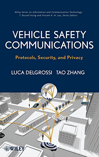 9781118132722: Vehicle Safety Communications: Protocols, Security, and Privacy (Information and Communication Technology Series)