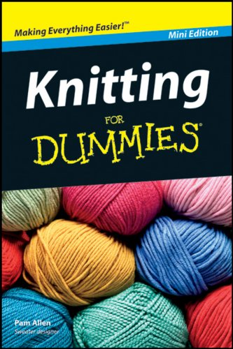 9781118133088: Knitting for Dummies Mini Edition