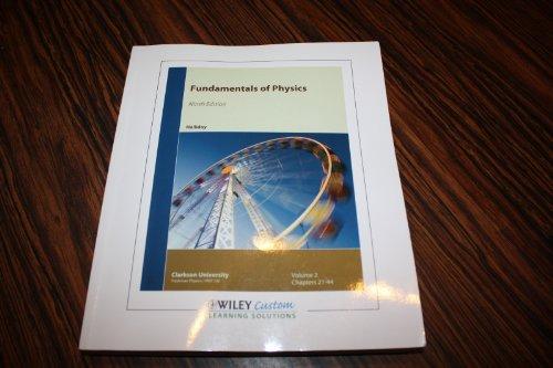 Fundamentals of Physics (Ninth Edition) Volume 2: Halliday