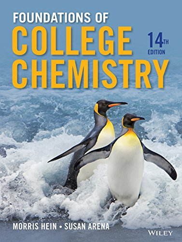 9781118133552: Foundations of College Chemistry