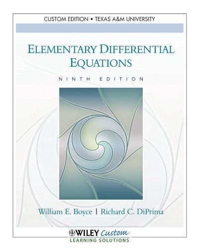 9781118133712: ELEM.DIFFERENTIAL EQUATIONS >C