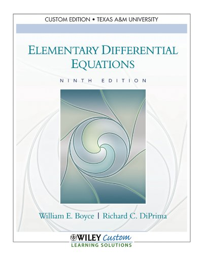 9781118133712: ELEM.DIFFERENTIAL EQUATIONS >C