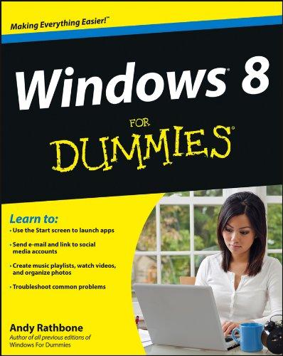 9781118134610: Windows 8 For Dummies