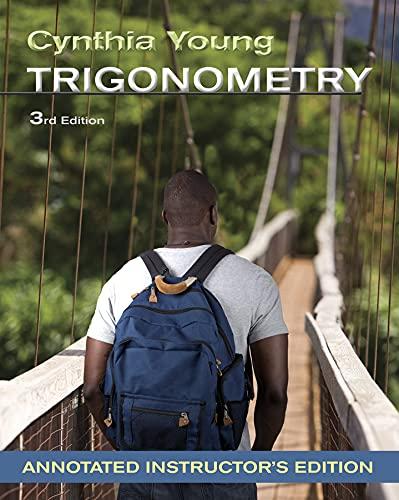 9781118134894: Trigonometry