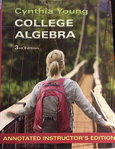 9781118134900: College Algebra