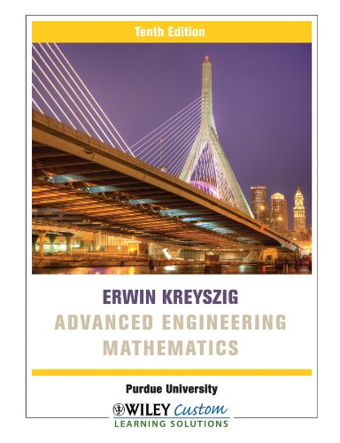 9781118139691: Advanced Engineering Mathematics 10e for Purdue University
