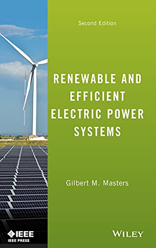9781118140628: Renewable and Efficient Electric Power Systems