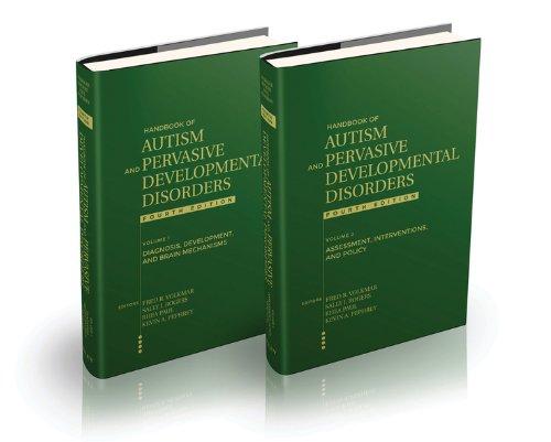 9781118140680: Handbook of Autism and Pervasive Developmental Disorders, 2 Volume Set
