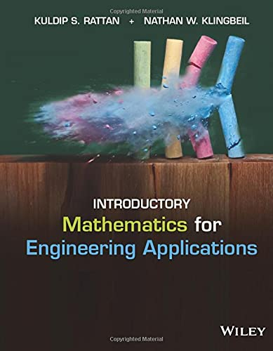 9781118141809: Introductory Mathematics for Engineering Applications