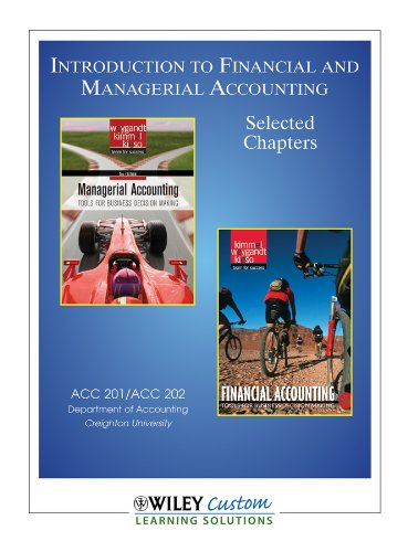 9781118144879: Introduction to Financial and Managerial Accounting Creighton University