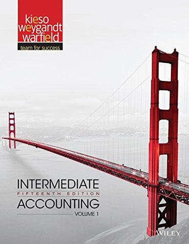 Intermediate Accounting (Volume 1): Kieso, Donald E.