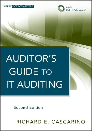 9781118147610: Auditor's Guide to IT Auditing, + Software Demo