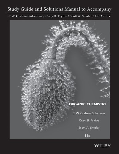 9781118147900: Organic Chemistry 11E Student Study Guide and Student Solutions Manual