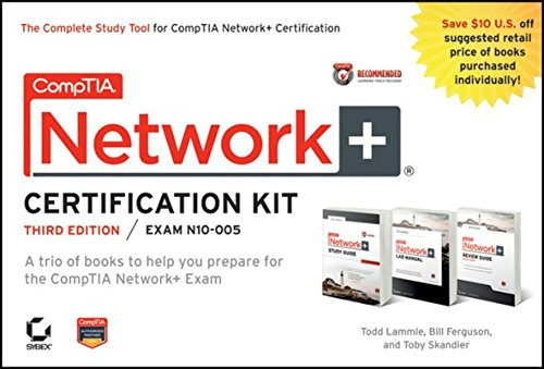 9781118148655: CompTIA Network+ Certification Kit Recommended Courseware: Exam N10-005