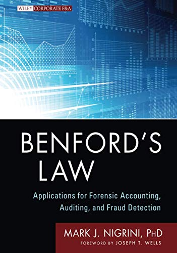 9781118152850: Benford's Law: Applications for Forensic Accounting, Auditing, and Fraud Detection (Wiley Corporate F&A)