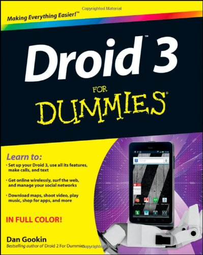 9781118157213: Droid 3 For Dummies