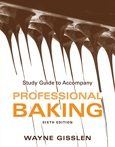9781118158333: Study Guide to Accompany Professional Baking, Sixth Edition