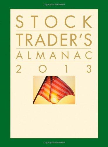 9781118159873: Stock Trader's Almanac 2013