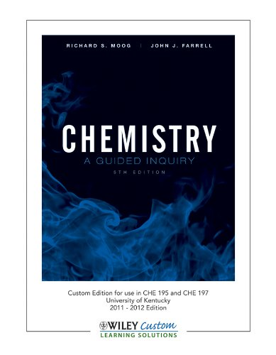 9781118161531: Chemistry: A Guided Inquiry
