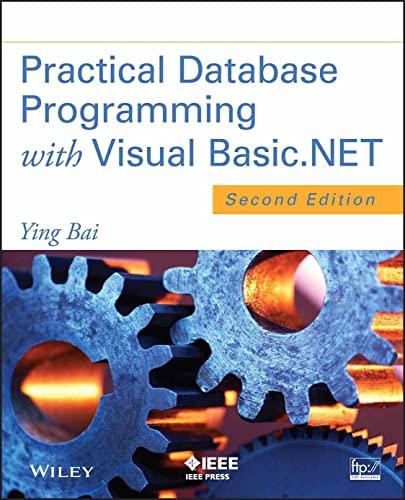 9781118162057: Practical Database Programming with Visual Basic.NET