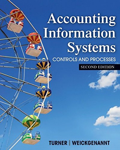 Accounting Information Systems: The Processes and Controls: Turner, Leslie, Weickgenannt,
