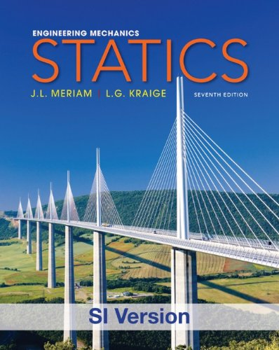 Engineering Mechanics: Statics (Paperback): J. L. Meriam