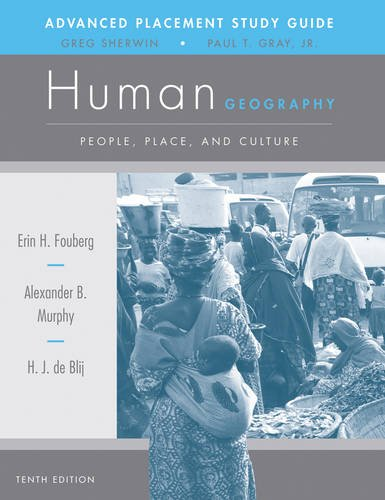9781118166864: AP Study Guide to Accompany Human Geography: People, Place, and Culture