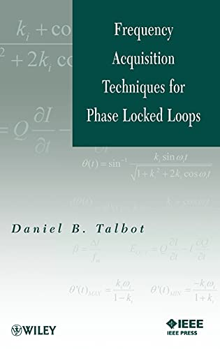 9781118168103: Frequency Acquisition Techniques for Phase Locked Loops