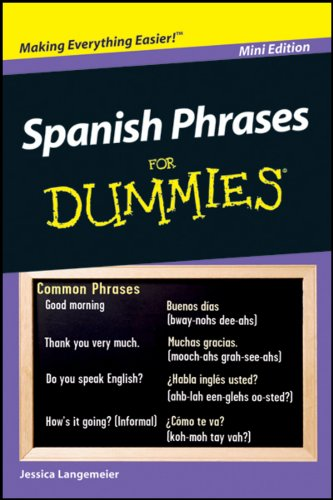 9781118168974: Spanish Phrases For Dummies Mini Edition