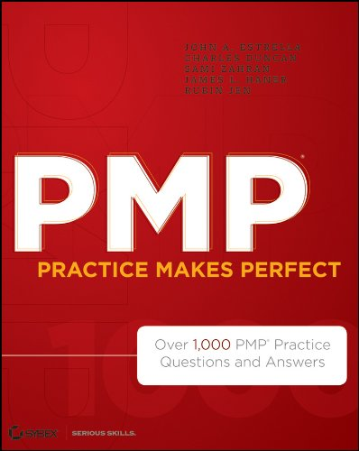 9781118169766: PMP Practice Makes Perfect: Over 1000 PMP Practice Questions and Answers