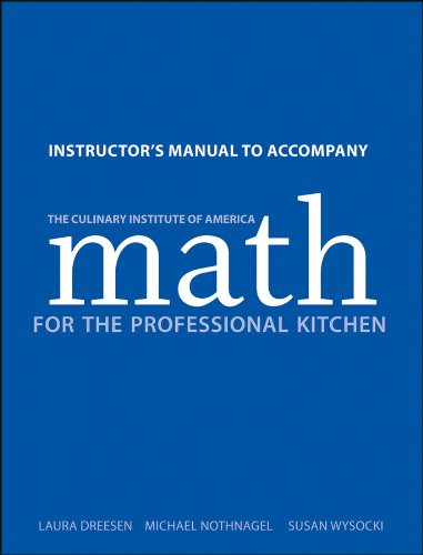 9781118173381: Math for the Professional Kitchen