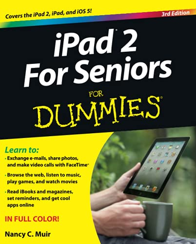 Ipad 2 for Seniors for Dummies , 3rd Edition (Paperback)