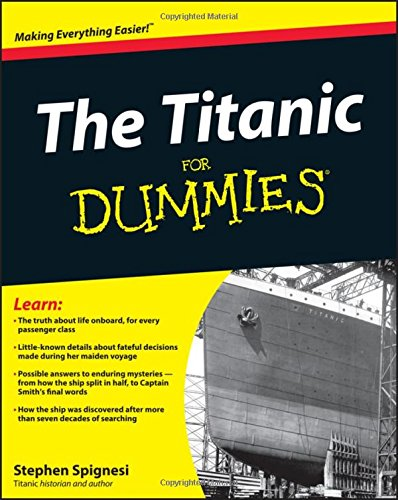 9781118177662: The Titanic For Dummies