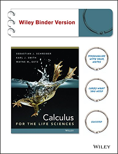 9781118180662: Calculus for Life Sciences