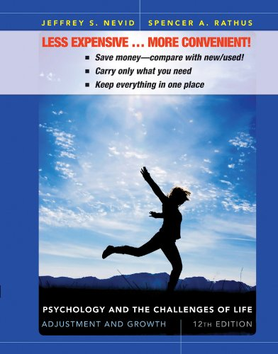 9781118182512: Psychology and the Challenges of Life, Binder Ready Version: Adjustment and Growth