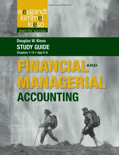 Study Guide to accompany Weygandt Financial and: Weygandt, Jerry J.,