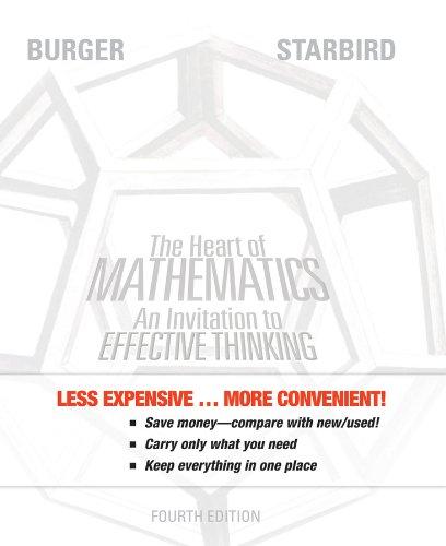 9781118235706: The Heart Of Mathematics, Binder Ready