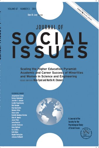 Journal of Social Issues, Volume 67, Number: Editor: Moin Syed;
