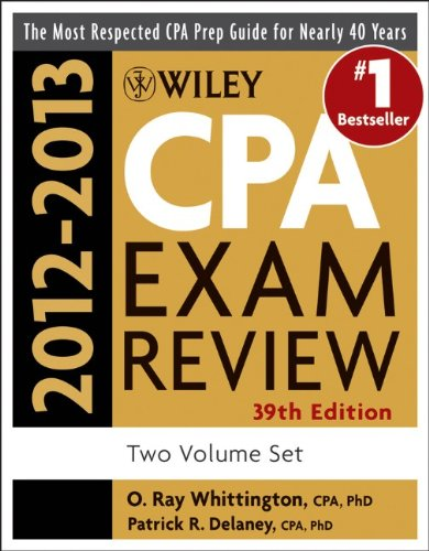 9781118266717: Wiley CPA Examination Review, 2012-2013 Set