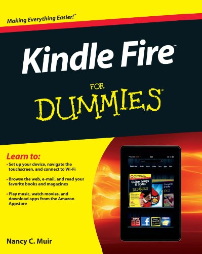 9781118267882: Kindle Fire For Dummies