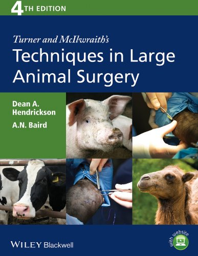 9781118273234: Turner and McIlwraith's Techniques in Large Animal Surgery