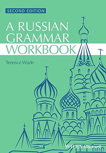 9781118273418: Russian Grammar Workbook