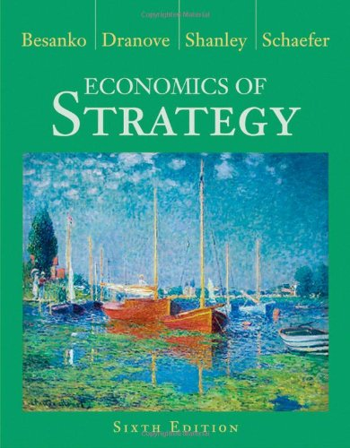 9781118273630: Economics of Strategy